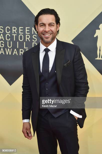 Actor Jon Huertas attends the 24th Annual Screen Actors Guild Awards at The Shrine Auditorium on January 21 2018 in Los Angeles California 27522_007