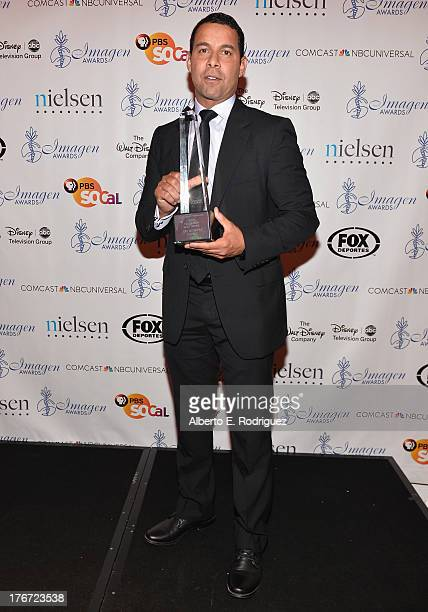 Actor Jon Huertas attends the 28th Annual Imagen Awards at The Beverly Hilton Hotel on August 16 2013 in Beverly Hills California