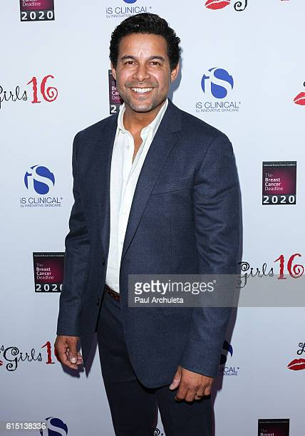 Actor Jon Huertas attends the National Breast Cancer Coalition's 16th Annual Les Girls Cabaret event at Avalon Hollywood on October 16 2016 in Los...