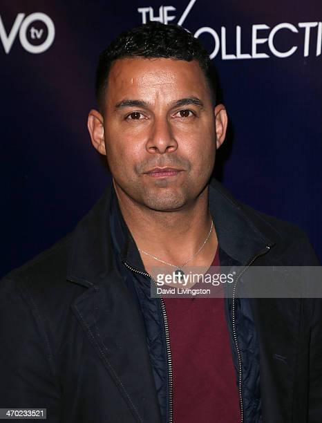 Actor Jon Huertas attends the NUVOtv Series Launch Party at Siren Studios on February 18 2014 in Hollywood California