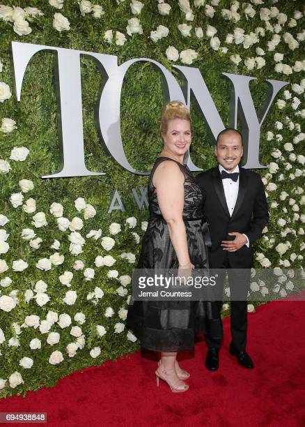 Actor Jon Jon Briones attends the 2017 Tony Awards at Radio City Music Hall on June 11 2017 in New York City