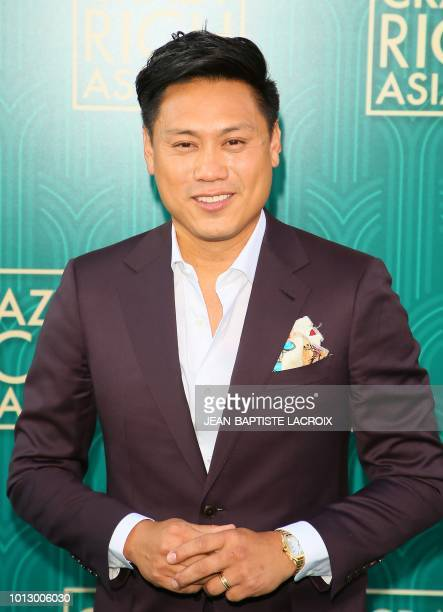 Actor Jon M Chu attends the premiere of Warner Bros Pictures' 'Crazy Rich Asians' in Hollywood California on August 7 2018