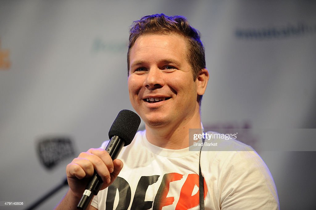 Actor Jon Peter Lewis attends the 2015 New York Musical Theatre Festival - Press Conference at Urbo NYC on July 1, 2015 in New York City.