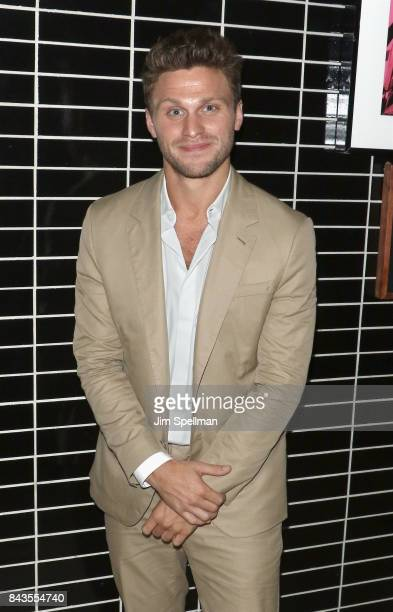 Actor Jon Rudnitsky attends the screening after party for Open Road Films' Home Again hosted by The Cinema Society with Elizabeth Arden and Lindt...