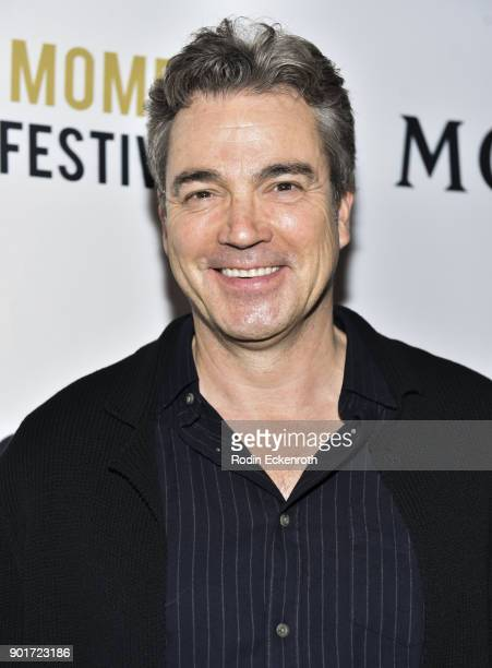 Actor Jon Tenney attends Moet and Chandon Celebrates 3rd Annual Moet Moment Film Festival and kick off of Golden Globes Week at Poppy on January 5...