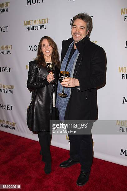 Actor Jon Tenney attends Moet Chandon Celebrates The 2nd Annual Moet Moment Film Festival and Kicks off Golden Globes Week at Doheny Room on January...