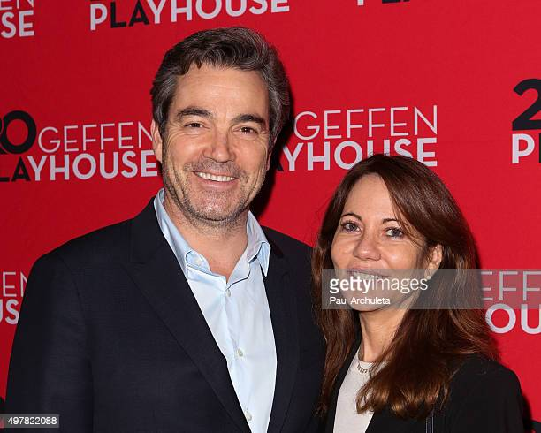 Actor Jon Tenney attends the opening night of Outside Mullingar at Geffen Playhouse on November 18 2015 in Los Angeles California