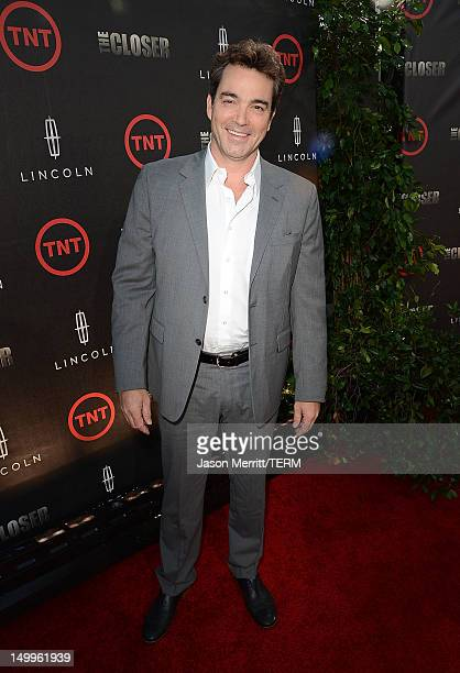 Actor Jon Tenney attends the special fan screening of TNT's The Closer series finale held at The Roosevelt Hotel on August 7 2012 in Hollywood...