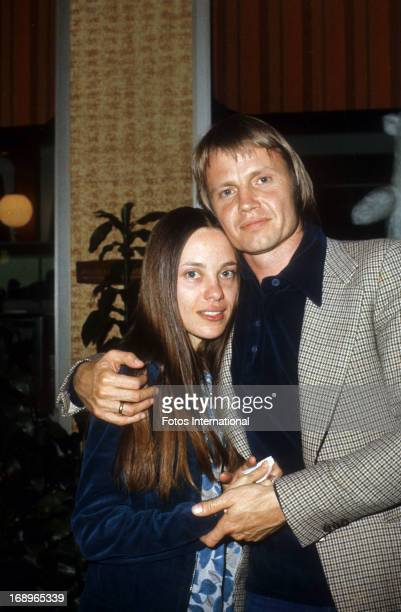 Actor Jon Voight and his second wife Marcheline Bertrand pose for a portrait in 1977 Bertrand and Voight are the parents of actress Angelina Jolie