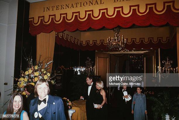 Actor Jon Voight and his wife actress Marcheline Bertrand arrive to the 47th Academy Awards at Dorothy Chandler Pavilion in Los AngelesCalifornia