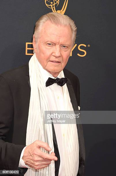 Actor Jon Voight arrives at the 68th Annual Primetime Emmy Awards at Microsoft Theater on September 18 2016 in Los Angeles California