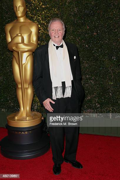Actor Jon Voight arrives at the Academy of Motion Picture Arts and Sciences' Governors Awards at The Ray Dolby Ballroom at Hollywood Highland Center...