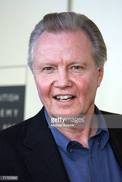Actor Jon Voight arrives at the BAFTA/LAAcademy of Television Arts and Sciences Tea Party at the Century Hyatt on August 26 2006 in Century City...