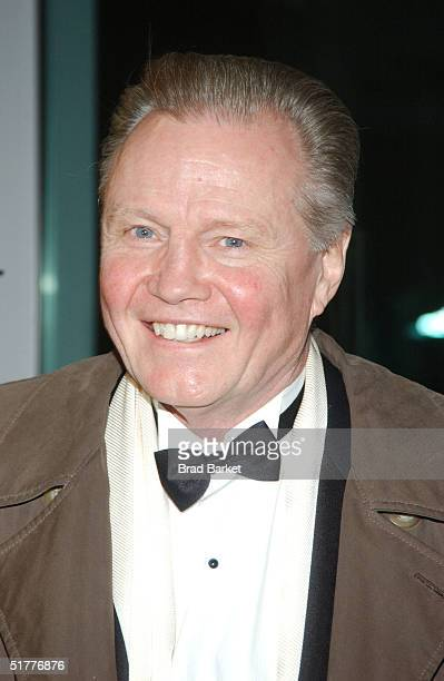 Actor Jon Voight arrives at the Children At Heart Gala To Benefit Children Of Chernobyl on November 22 2004 at Pier 60 at the Chelsea Piers in New...