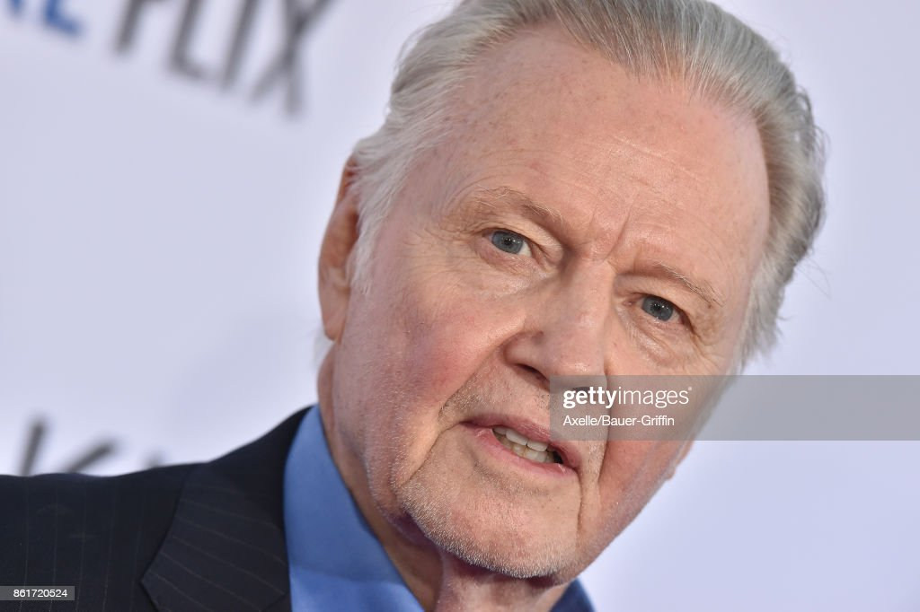 Actor Jon Voight arrives at the premiere of 'Same Kind of Different as Me' at Westwood Village Theatre on October 12, 2017 in Westwood, California.