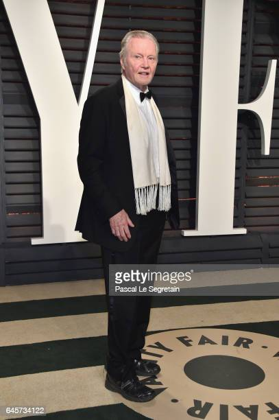 Actor Jon Voight attends the 2017 Vanity Fair Oscar Party hosted by Graydon Carter at Wallis Annenberg Center for the Performing Arts on February 26...