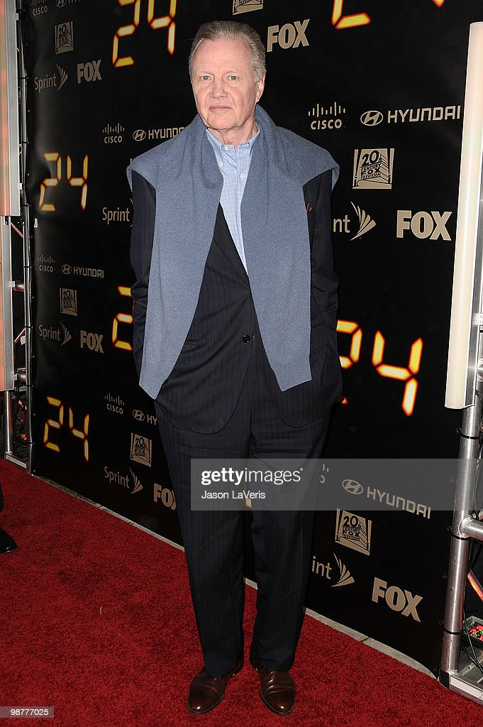 Actor Jon Voight attends the '24' series finale party at Boulevard3 on April 30, 2010 in Hollywood, California.