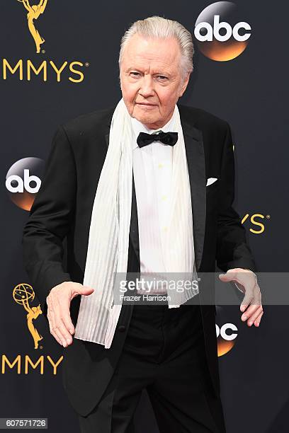 Actor Jon Voight attends the 68th Annual Primetime Emmy Awards at Microsoft Theater on September 18 2016 in Los Angeles California