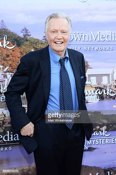 Actor Jon Voight attends the Hallmark Channel and Hallmark Movies and Mysteries Summer 2016 TCA press tour event on July 27 2016 in Beverly Hills...