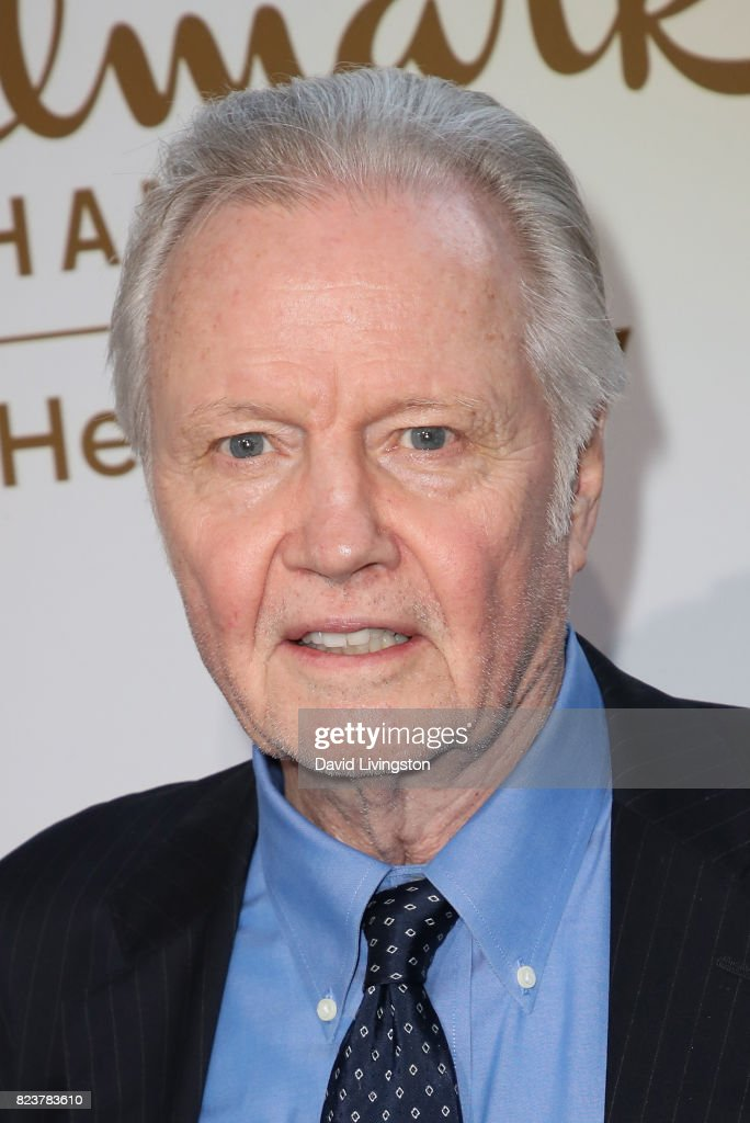 Actor Jon Voight attends the Hallmark Channel and Hallmark Movies and Mysteries 2017 Summer TCA Tour on July 27, 2017 in Beverly Hills, California.