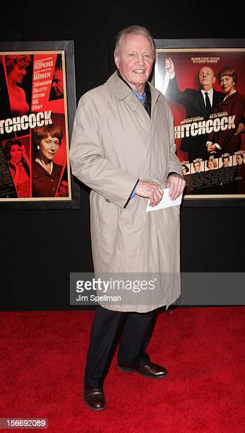 Actor Jon Voight attends the Hitchcock New York Premiere at Ziegfeld Theatre on November 18 2012 in New York City