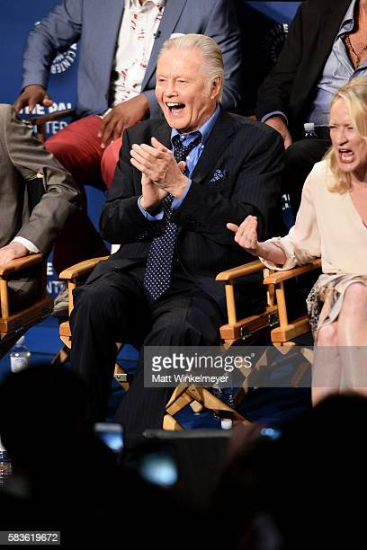 Actor Jon Voight attends the PaleyLive LA An Evening With Ray Donovan at The Paley Center for Media on July 26 2016 in Beverly Hills California