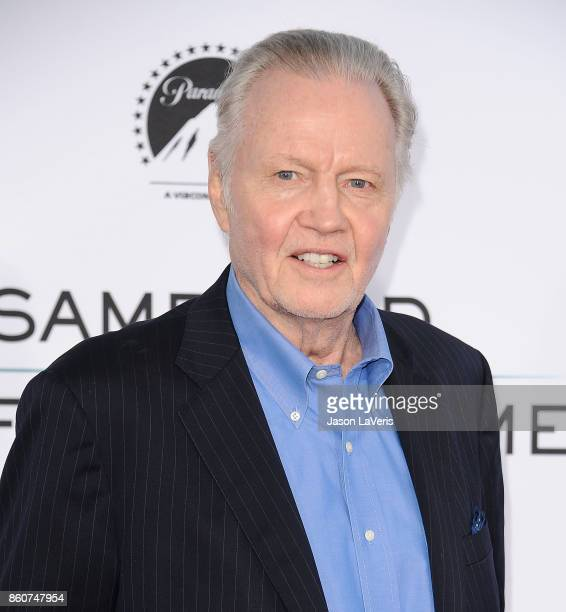 """Actor Jon Voight attends the premiere of """"Same Kind of Different as Me"""" at Westwood Village Theatre on October 12, 2017 in Westwood, California."""