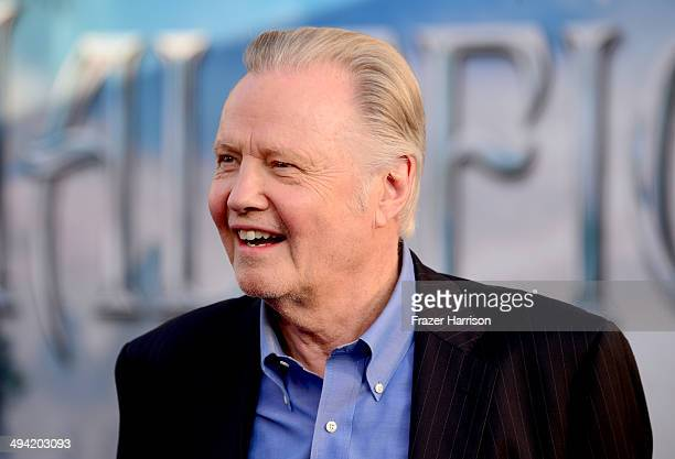 Actor Jon Voight attends the World Premiere of Disney's Maleficent at the El Capitan Theatre on May 28 2014 in Hollywood California