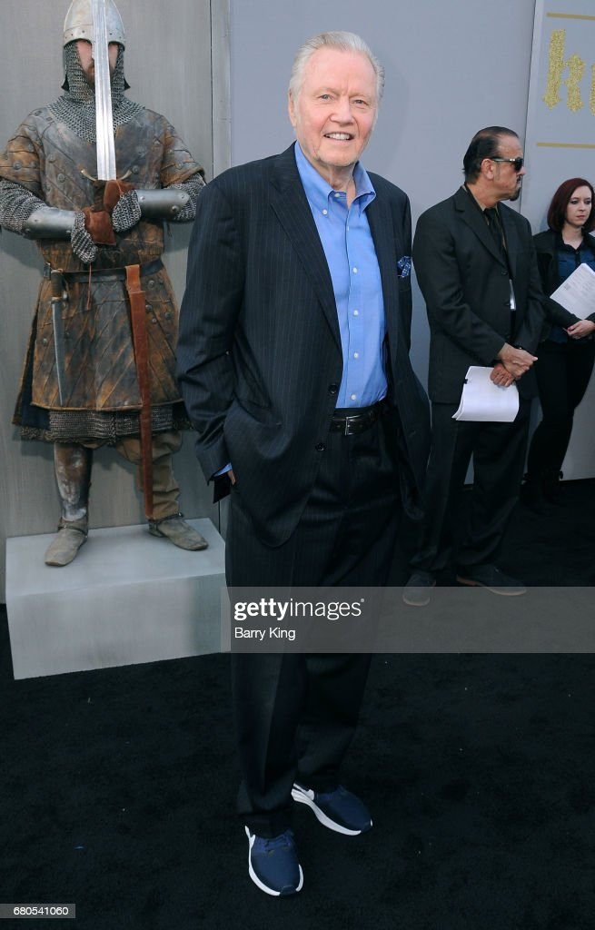 Actor Jon Voight attends world premiere of Warner Bros. Pictures' 'King Arthur: Legend Of The Sword' at TCL Chinese Theatre on May 8, 2017 in Hollywood, California.
