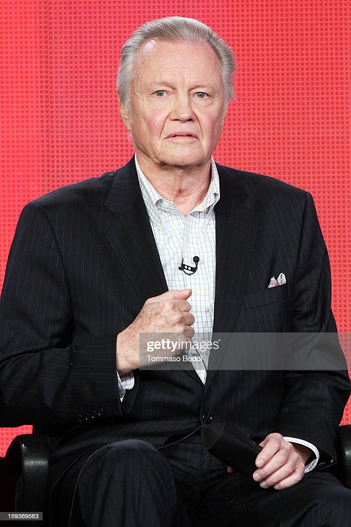 Actor Jon Voight of the TV show 'Ray Donovan' attends the 2013 TCA Winter Press Tour CW/CBS panel held at The Langham Huntington Hotel and Spa on January 12, 2013 in Pasadena, California.