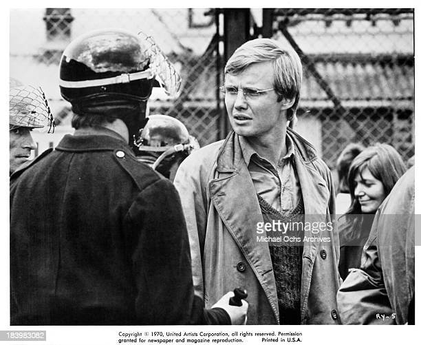 Actor Jon Voight on set of the United Artists movie The Revolutionary in 1970