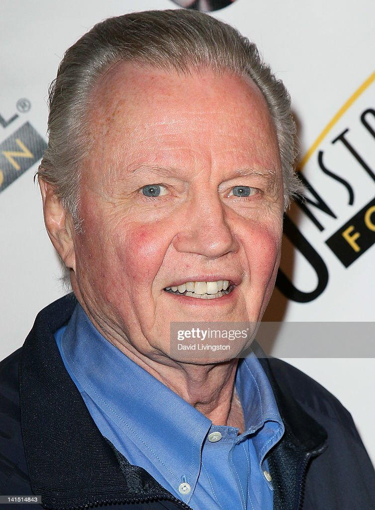 Actor Jon Voight poses on the red carpet at the 3rd annual Unstoppable Gala at the Millennium Biltmore Hotel on March 17, 2012 in Los Angeles, California.