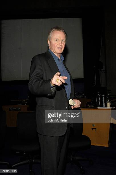 Actor Jon Voight was among the family and friends that watched Actor and World Champion body builder Lou Ferrigno graduate from the Los Angeles...
