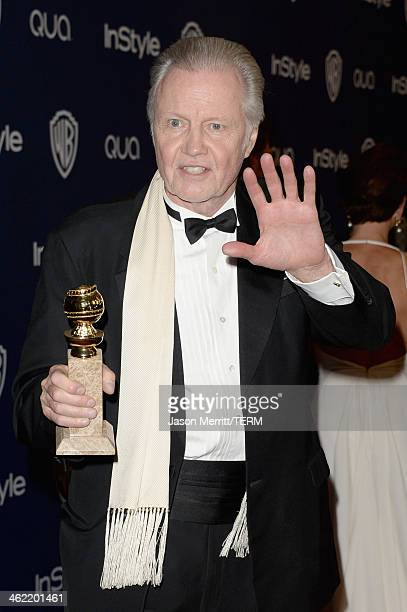Actor Jon Voight winner of Best Supporting Actor in a Series Miniseries or Television Film for 'Ray Donovan' attends the 2014 InStyle and Warner Bros...