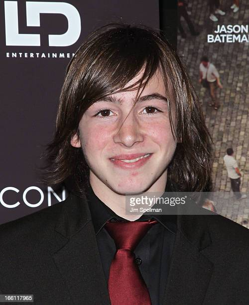 Actor Jonah Bobo attends Disconnect New York Special Screening at SVA Theater on April 8 2013 in New York City