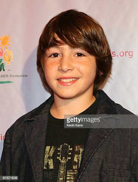 Actor Jonah Bobo attends the Elizabeth Glaser Pediatric AIDS Foundation Kids for Kids Family Carnival at Industria Superstudio on October 24 2009 in...