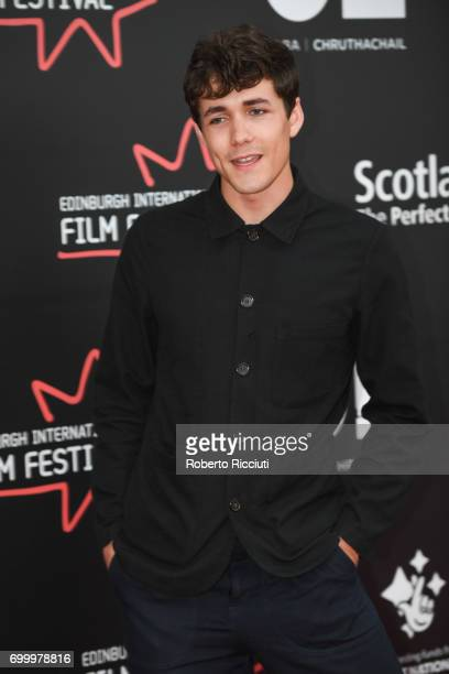 Actor Jonah HauerKing attends a photocall for the world premiere of The Last Photograph during the 71th Edinburgh International Film Festival at...