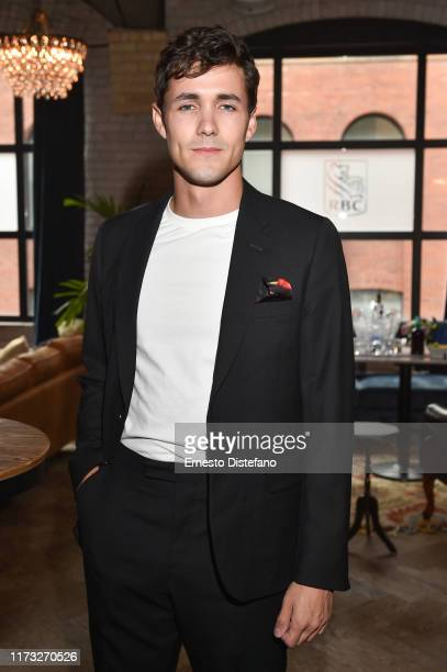 Actor Jonah HauerKing Attends the RBC Hosted The Song of Names Cocktail Party At RBC House Toronto Film Festival 2019 at RBC House on September 08...