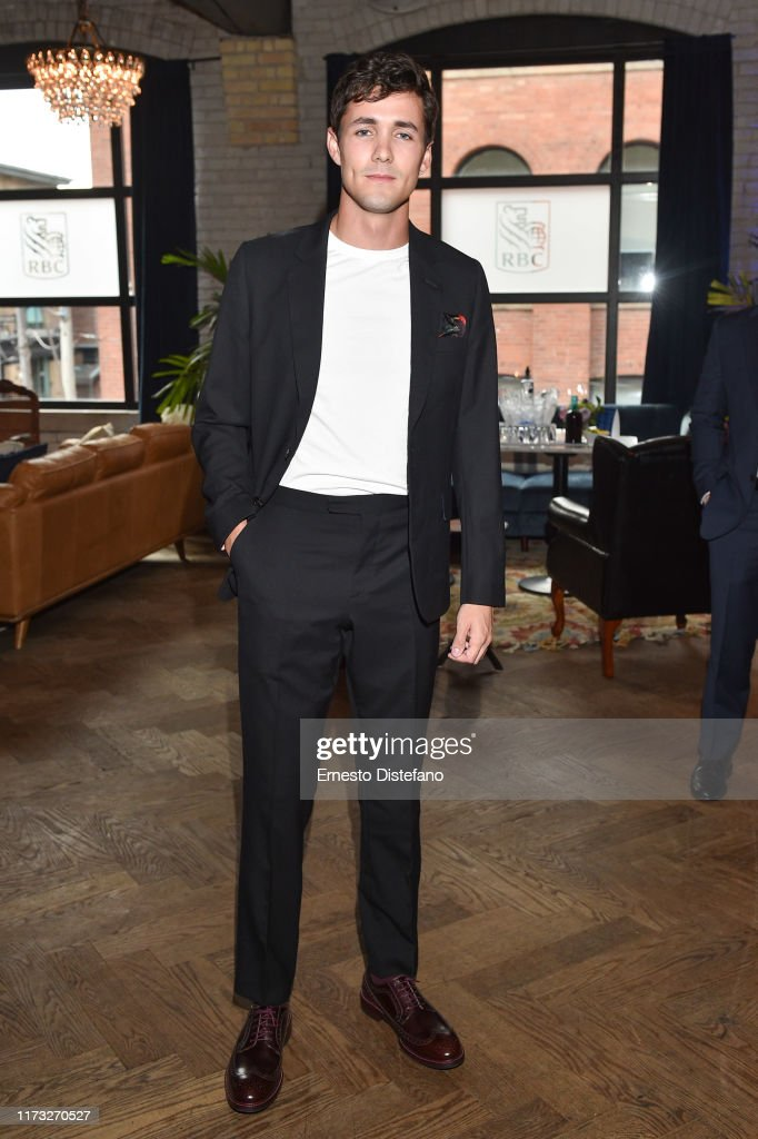 "RBC Hosted ""The Song of Names"" Cocktail Party At RBC House Toronto Film Festival 2019 : Nyhetsfoto"