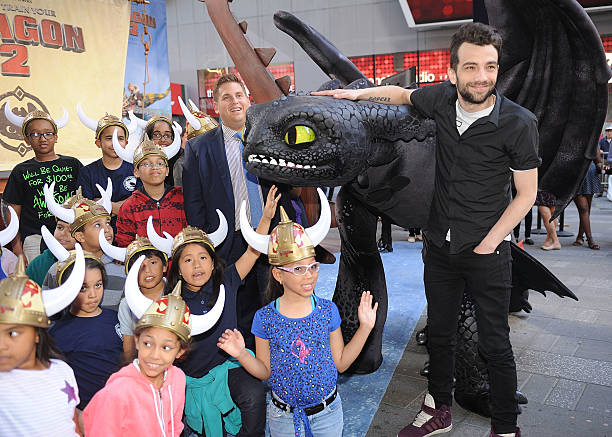 How to train your dragon 2 photo call photos and images getty images actor jonah hill l and jay baruchel attends the how to train your ccuart Gallery