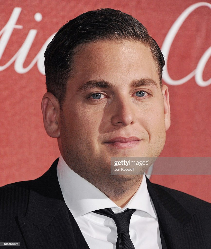 Actor Jonah Hill arrives at the 23rd Annual Palm Springs International Film Festival Awards Gala at Palm Springs Convention Center on January 7, 2012 in Palm Springs, California.