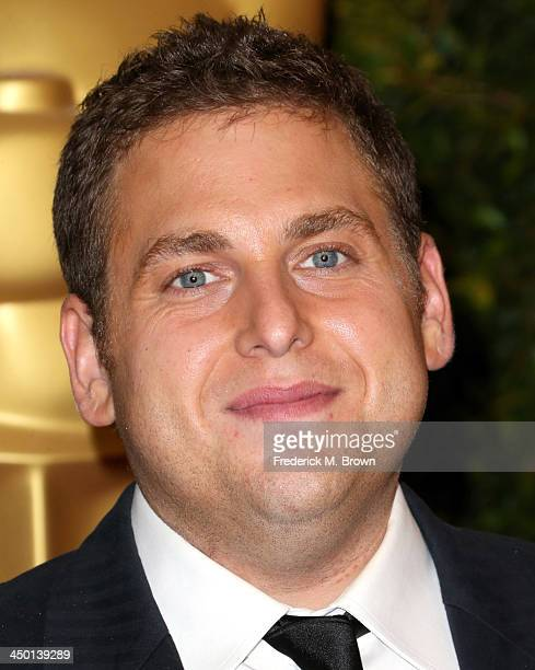 Actor Jonah Hill arrives at the Academy of Motion Picture Arts and Sciences' Governors Awards at The Ray Dolby Ballroom at Hollywood Highland Center...