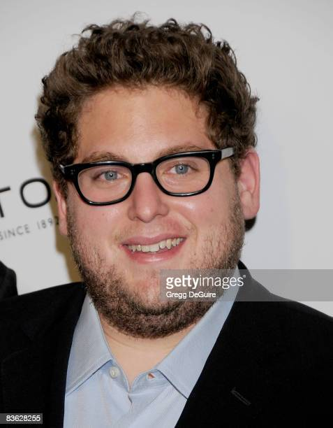 Actor Jonah Hill arrives at The Behind the Camera Awards presented by Hamilton and Hollywood Life at The Highlands on November 9 2008 in Los Angeles...