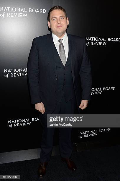 Actor Jonah Hill attends the 2014 National Board Of Review Awards Gala at Cipriani 42nd Street on January 7 2014 in New York City