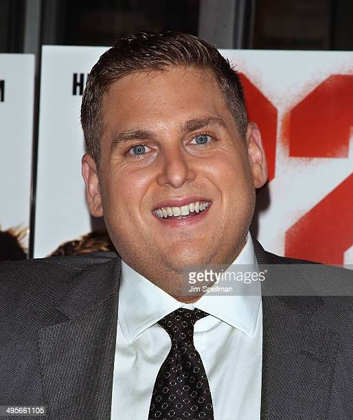 Actor Jonah Hill attends the 22 Jump Street premiere at AMC Lincoln Square Theater on June 4 2014 in New York City
