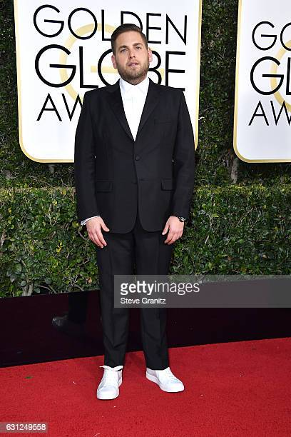 Actor Jonah Hill attends the 74th Annual Golden Globe Awards at The Beverly Hilton Hotel on January 8 2017 in Beverly Hills California