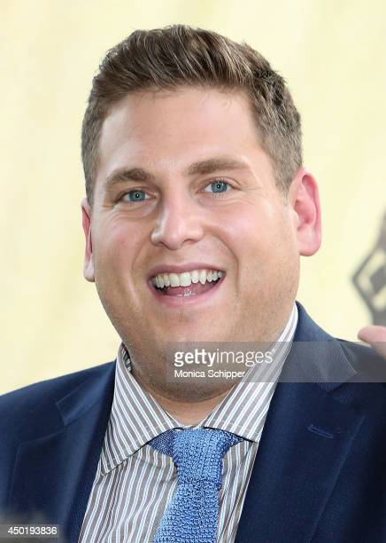 Actor Jonah Hill attends the 'How To Train Your Dragon 2' Photo Call in Times Square on June 6 2014 in New York City