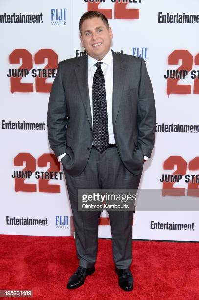 Actor Jonah Hill attends the New York screening of '22 Jump Street' at AMC Lincoln Square Theater on June 4 2014 in New York City