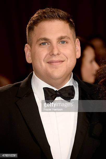 Actor Jonah Hill attends the Oscars held at Hollywood Highland Center on March 2 2014 in Hollywood California