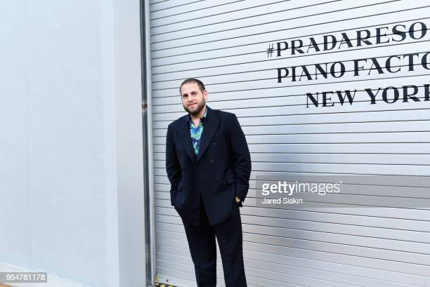 Actor Jonah Hill attends the Prada Resort 2019 fashion show on May 4 2018 in New York City